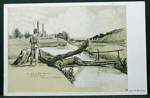 K-u-K-Patriotica-Ak-Austria-Soldiers-Wk-1-Postcard-WW1-Postcard-Lot-H-9117