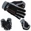 Men Winter Fur Trim Leather Gloves Real Sheepskin Warm Outdoor Gloves Mittens UK