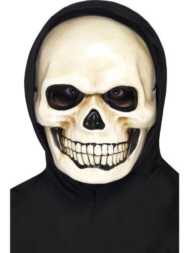 Crâne Masque Halloween Déguisement robe squelette Masque femme homme adulte neuf