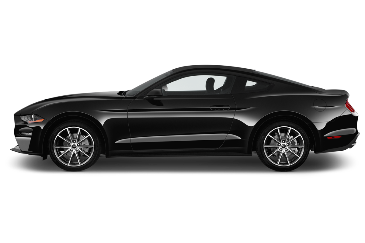 Ford Mustang side view