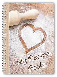 NEW-A5-RECIPE-PLANNER-PERSONAL-RECIPE-BOOK-YOUR-OWN-RECIPES-WEIGHT-LOSS