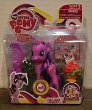 NIB My Little Pony Twilight Sparkle  with wedding invitation comb & Accessories