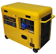 Generatore di corrente diesel 6 kw silenziato - gruppo elettrogeno 6 kw