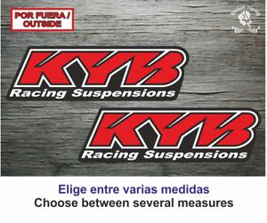 Sticker-Vinilo-Decal-Vinyl-Aufkleber-Adesivi-Autocollant-KYB-Racing-Suspensions
