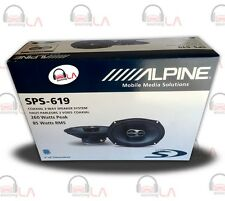 "Alpine SPS619 6x9"" 520W 3 Way Type S Series Car Audio Speakers"