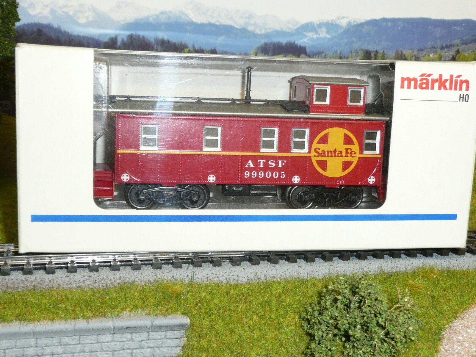 Märklin 4777,us - carro merci *** Caboose ***, MERCE NUOVA