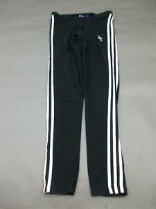 Adidas-Size-M-Womens-Black-Athletic-Gym-Fitness-Track-Pants-063