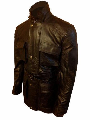 Bane The Dark Knight Rises Black Box Pocket Genuine Leather Jacket