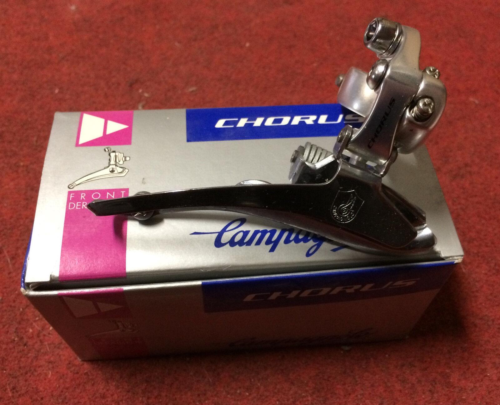 Desviador anterior Campagnolo Cgold 9s 28.6mm presilla on bike delantero