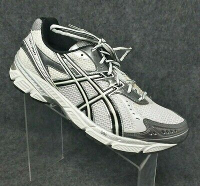 ASICS MEN'S GEL 1160 RUNNING Training Shoes White Silver Black Sz 11.5 ~ T0J3N | eBay