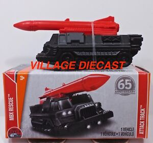 2018-Matchbox-Power-Grabs-83-Attack-Track-MATTE-BLACK-RED-MIB