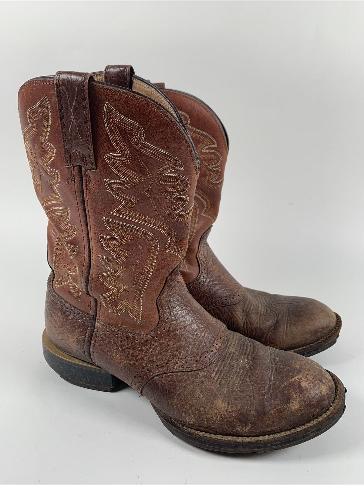 Mlcw026 Twisted X Mens Lite Cowboy Elephant Print Western Work Boot Round Toe