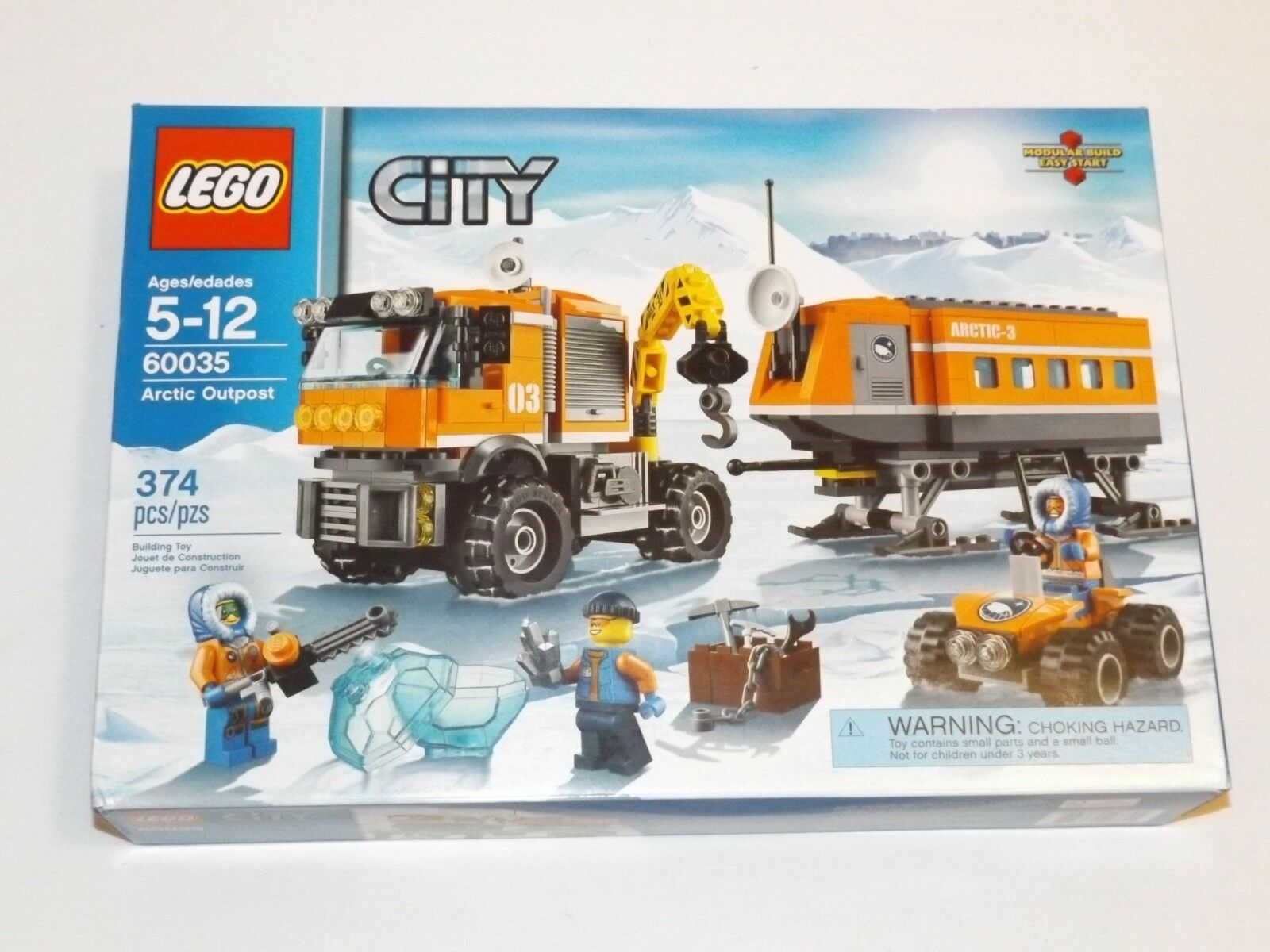 LEGO City ARCTIC OUTPOST 60035 mobile laboratory truck