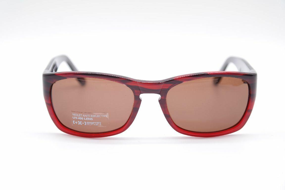 His 9946-00h 52 [] 18 rojo oval gafas de sol Sunglasses nuevo