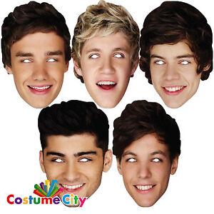 One-Direction-1D-Officiel-Fancy-Dress-Masque-Harry-Liam-Niall-Zayn-Louis