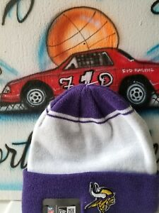 fe724eb75 Image is loading New-Era-NFL-Minnesota-Vikings-Beanie-Hat