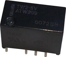Panasonic TX2-9V 2A 9VDC DPDT PCB Signal Relay TX Series