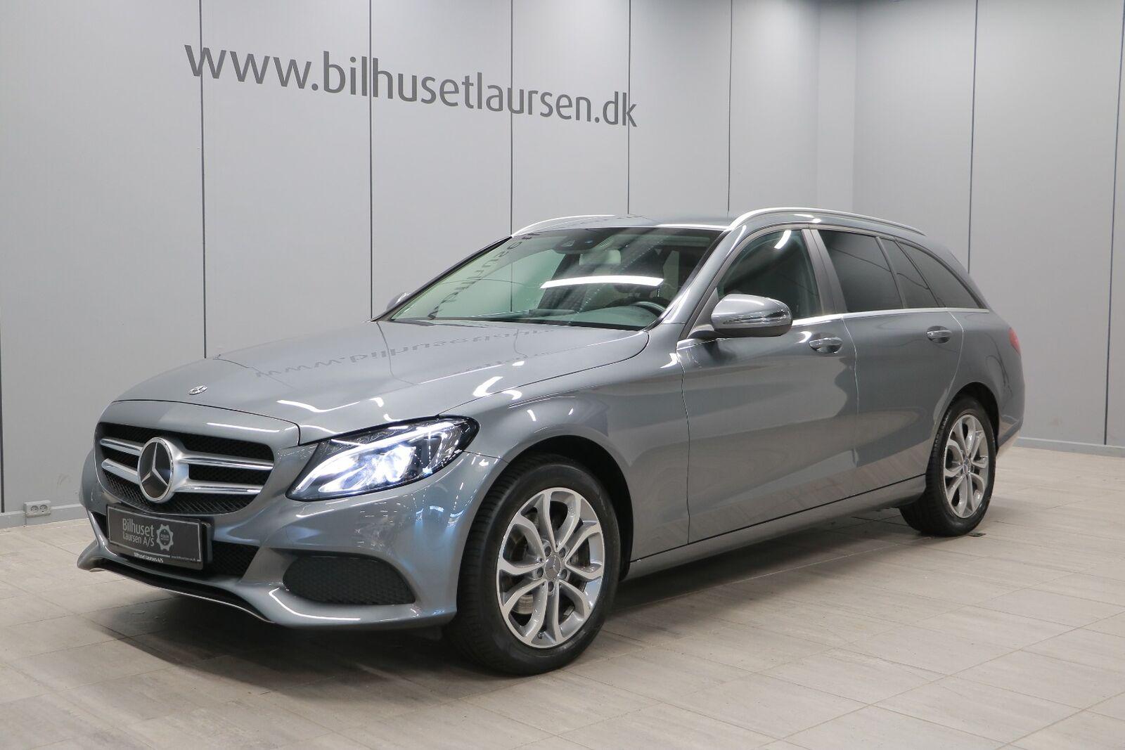 Mercedes C220 d 2,2 Business stc. aut. 5d - 347.900 kr.