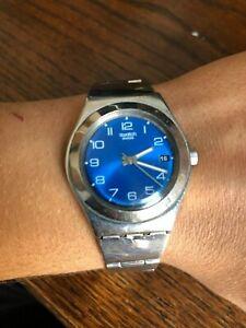 comprar popular 85c29 9fbd5 Detalles de Reloj Swatch Swiss para hombre ACERO INOXIDABLE