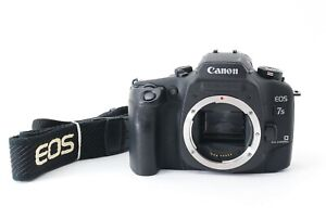 Canon EOS 7s SLR 35mm Film Camera Body Only Works From Japan Fedex #7515