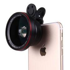 Universal Kamera Makro Weitwinkel Fischauge Objektiv Linse für Smartphone Tablet