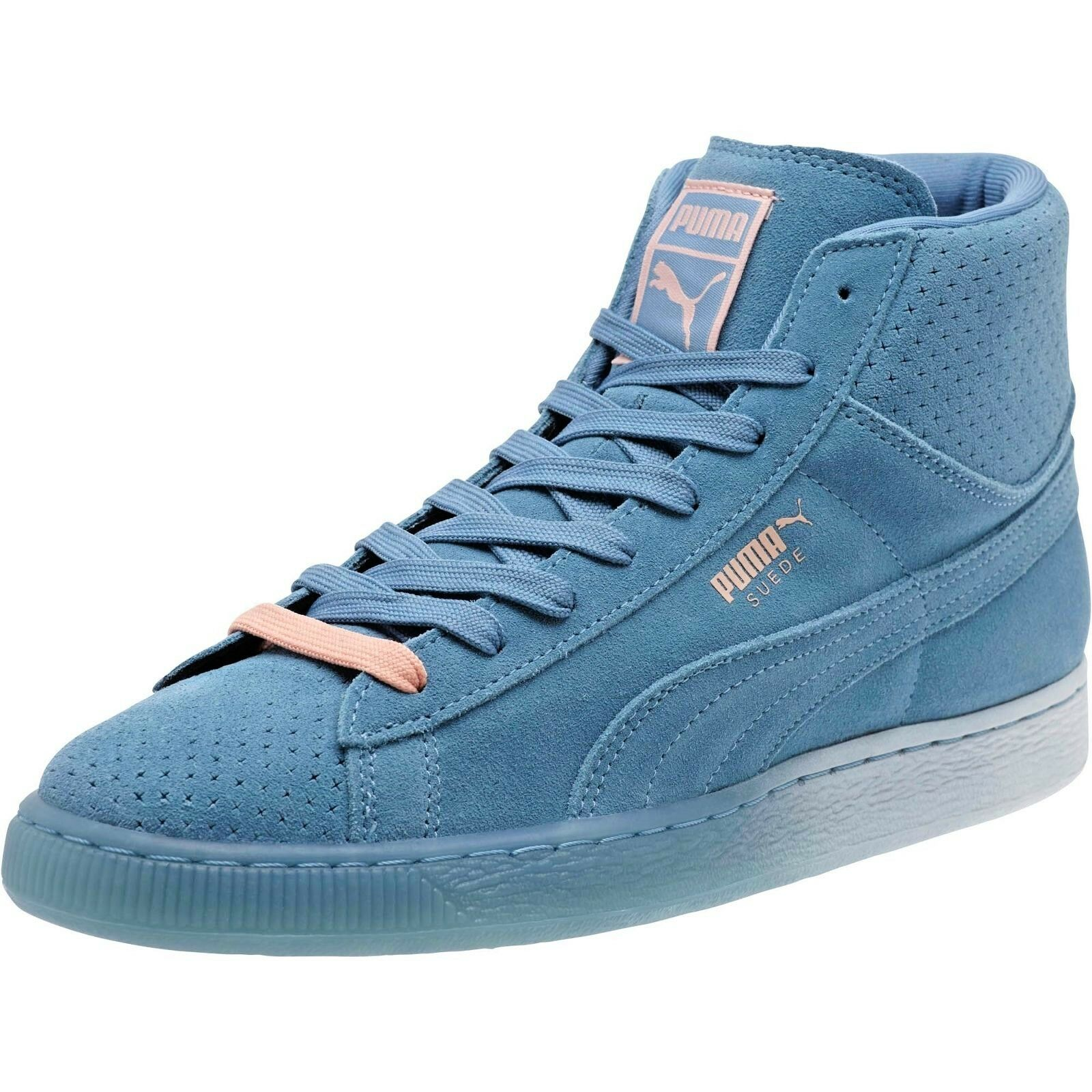PUMA SUEDE X PINK DOLPHIN COLLAB MID TOP 362334 01 SZ 11.5