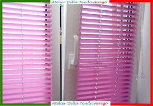 Veneziane Su Misura.Dettagli Su Veneziana Lamella 25 Mm In Alluminio Venezianine Realizzate Su Misura E Colore