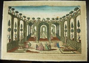 Sicht-Perspective-Gaerten-Roy-Koenig-ISLE-Insel-Naxos-Opera-De-Venus-Venedig-c1770