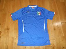PUMA ITALIA NATIONAL SOCCER TEAM JERSEY KIT MENS L FIGC BALOTELLI WORLD CUP FIFA