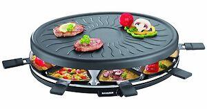 Partygrill Severin Grill Raclette Grillplatte Elektrische