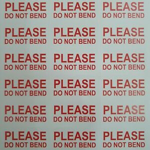034-PLEASE-DO-NOT-BEND-034-STICKERS