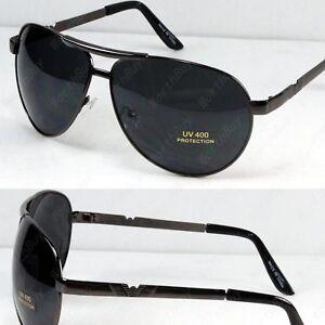 New-Mens-Pilot-Fashion-Designer-Sunglasses-Shades-Retro-Wrap-Black-Wrap-Sports