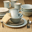 thumbnail 1 - 16 Piece Fitz and Floyd Butterfly Fields Dinnerware Set Stoneware Service  4