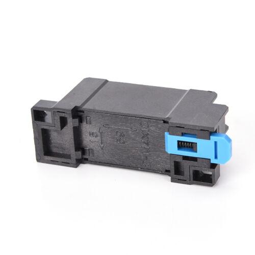 24VAC 5A Coil Power Relay MY2NJ HH52P-L 8 Pins 2P2T DPDT With Socket Base HF