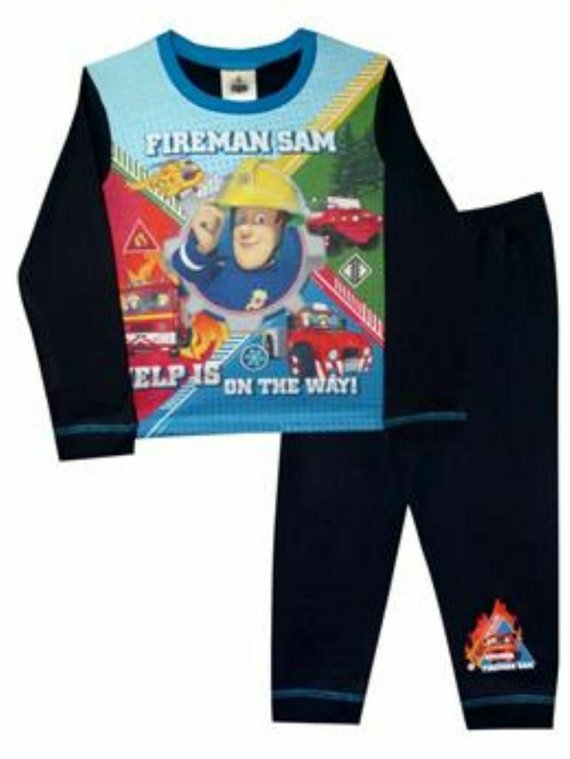 **REF12 Fireman Boys Pyjamas 4-5 Years reduced to clear slight damage see notes