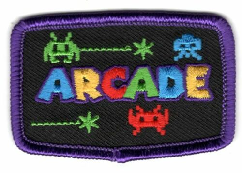 ARCADE Iron Patch Sports Words Games Competition