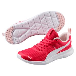PUMA LADIES FLEX ESSENTIALS RUNNING SHOE -rrp .99 - FREE POSTAGE Pink