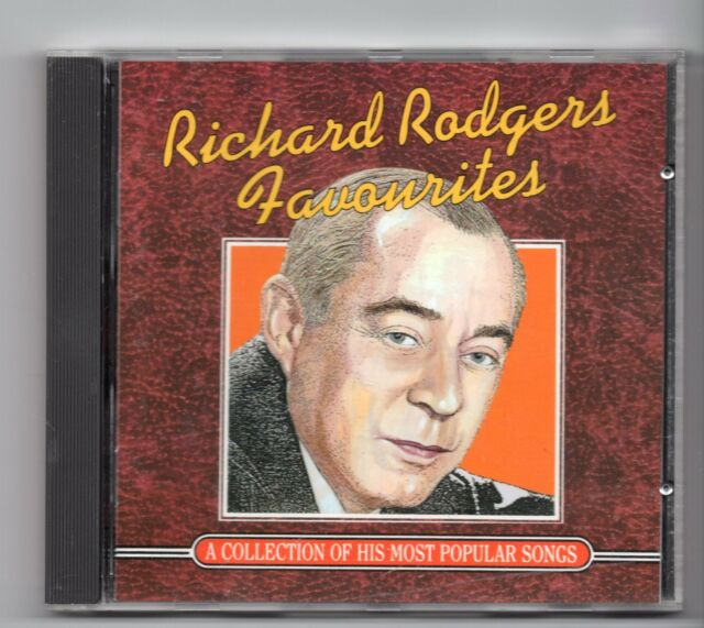 (JF244) Richard Rodgers, Favourites, 16 tracks - 1993 CD