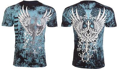 KONFLIC Couture Men T-Shirt TATTOO Biker MMA UFC Roar Xtreme Xzavier M-XXL $40 g