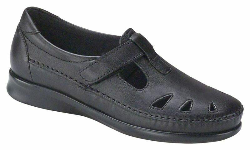 SAS SAS SAS Roamer Black Sandals shoes 8.5 N b04df1