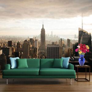 Détails Sur New York City Skyline Empire State Building Photo Papier Peint Chambre Deco Afficher Le Titre D Origine
