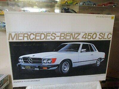 Slc Kit Car >> Otaki 1 12 Scale Model Car Kit Mercedes Benz 450 Slc 4500 Ebay
