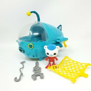 Octonauts Gup-A Mission Blue Wind Up Submarine Vehicle Windshield Attached