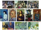 Lot 11 Art Fridge Magnets of Most Expensive Paintings Art--Van Gogh, Picasso