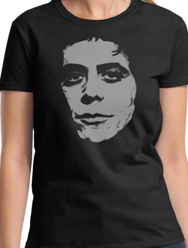 LOU REED LADIES MUSIC T SHIRT VELVET UNDERGROUND NEW TOP GIFT W23