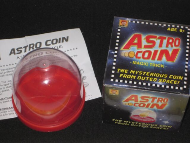 Astro Coin Magic Trick - Close Up, Self-Working, Good Kids Trick for Beginners