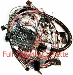 image is loading 1970-corvette-dash-wiring-harness-for-vettes-with-