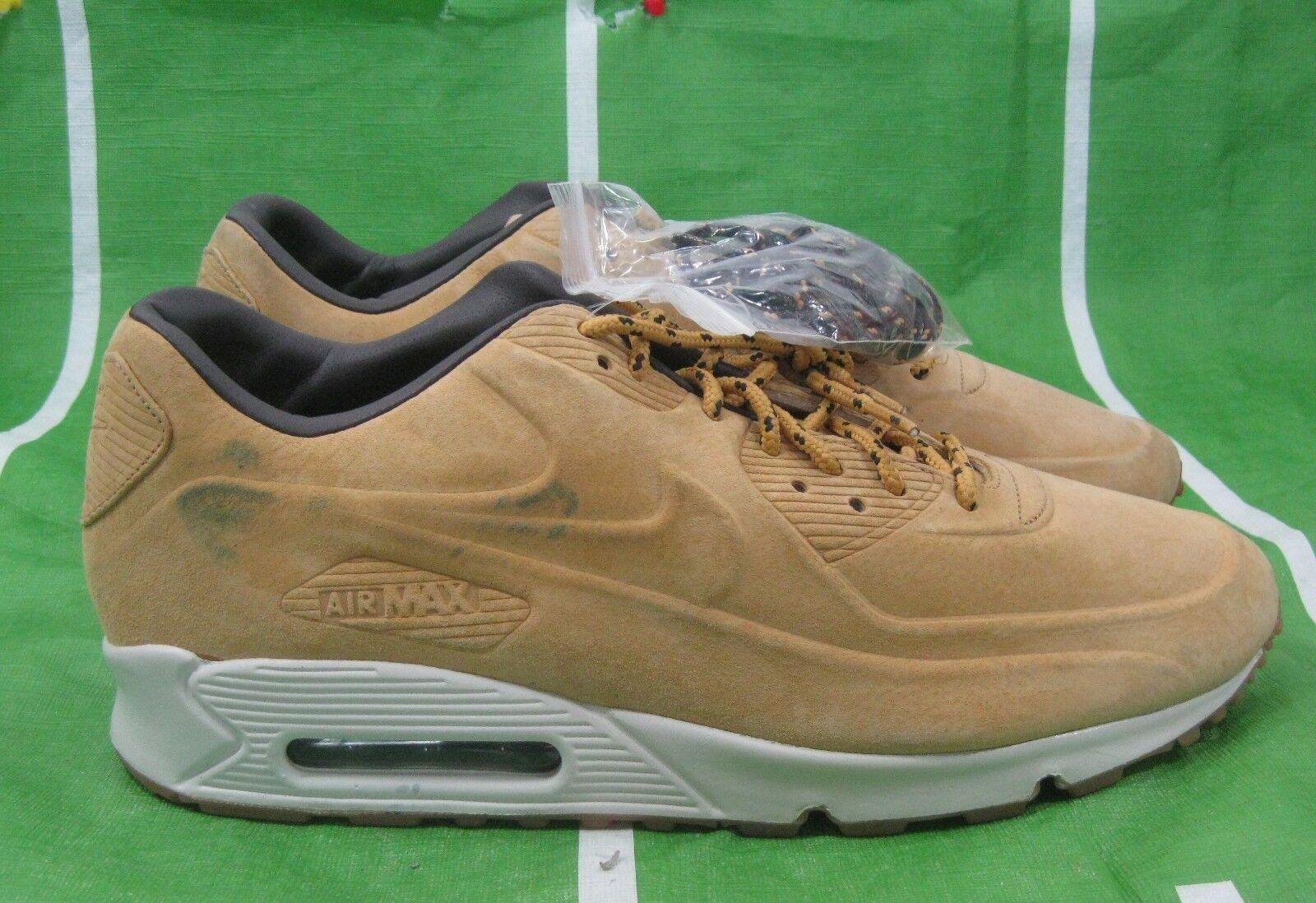 RARE Nike AIR MAX 90 VT PRM QS 486988 700   TZ QS SE VAC TECH HAYSTACK Size 13