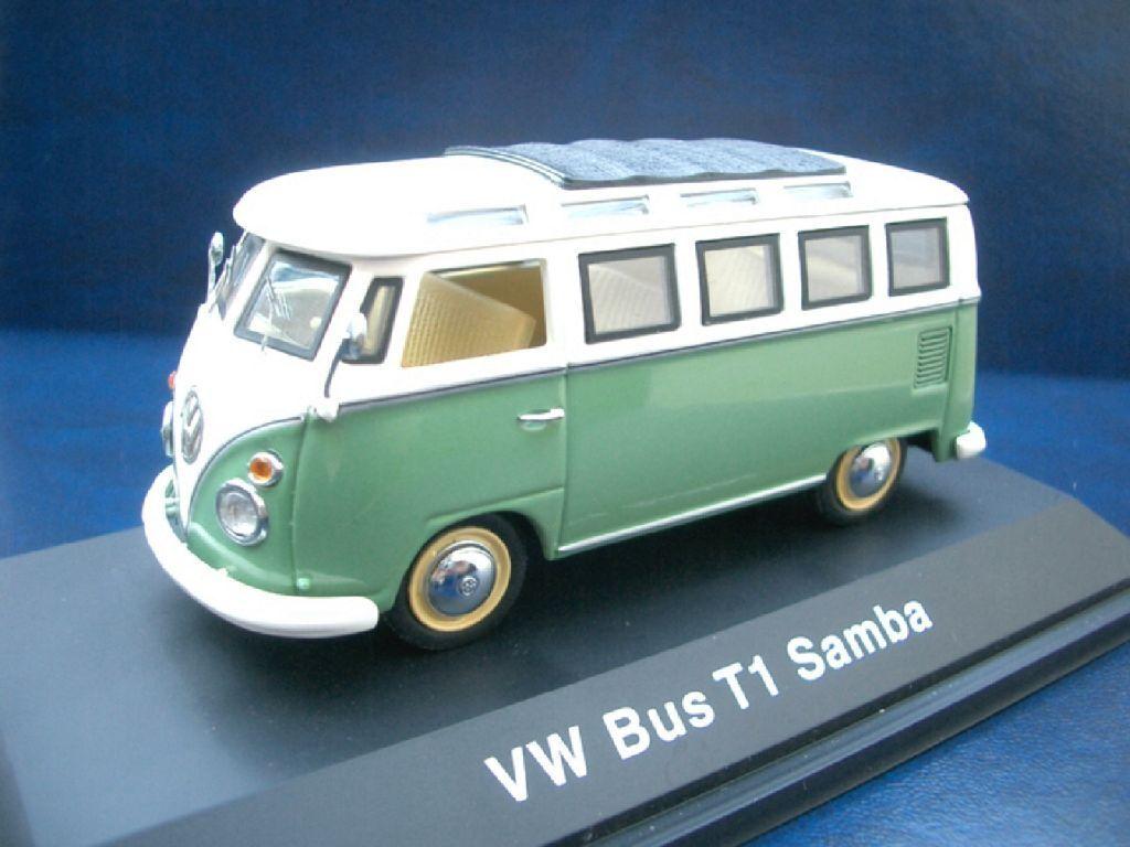 + vw t1 Bus Samba Vert Clair De Schuco Dans 1 43 +++ VOLKSWAGEN +++ 02716