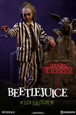 "Sideshow Collectibles BEETLEJUICE 12"" Action Figure 1/6 Scale Michael Keaton"